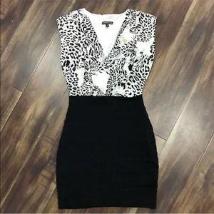 Express Animal Print Dress XS